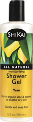 Moisturizing shower gels - Yuzu