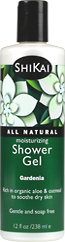 Moisturizing shower gels - Gardenia