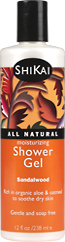 Moisturizing shower gels - Sandalwood