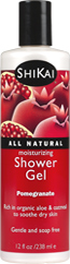 Moisturizing shower gels - Pomegranate